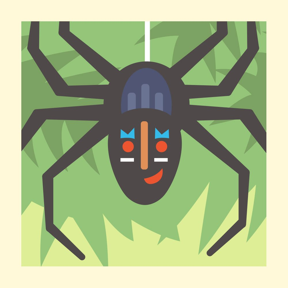 How Anansi Became Keeper of All Stories